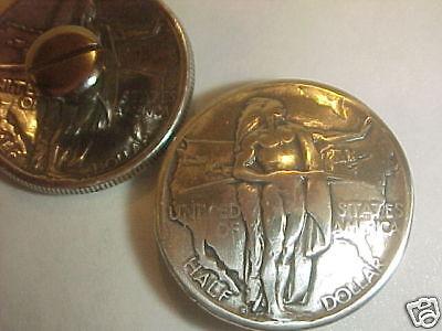 1926 Silver Oregon Trail Half Dollar Indian Concho