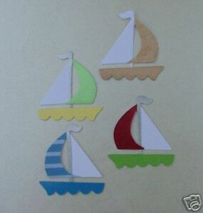 Sailboat Yatchs Boats Sailing Training Beach Sea Ocean Die Cuts Card Toppers - <span itemprop='availableAtOrFrom'>Gosport, Hampshire, United Kingdom</span> - Any problems, please let me know, I'll try and sort any before I post in the first place. I cannot be held responsible for the postal service, and therefore cannot refund if th - Gosport, Hampshire, United Kingdom