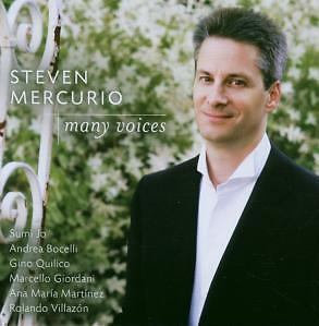 CD Steven Mercurio `Voices` Sumi Jo, Villazon, Bocelli, Gino Quilico Neu/New/OVP