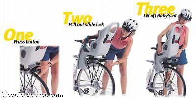 topeak baby seat instructions