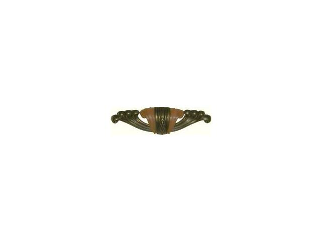 DECO WATERFALL STYLE DRAWER PULL  AD0696