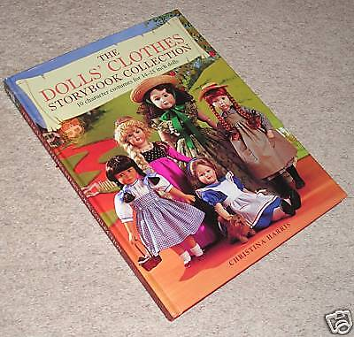DOLL'S CLOTHES STORYBOOK (w/patterns) -new book RRP £18